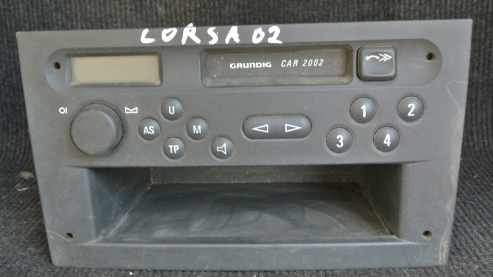 opel corsa c radio cassete player unit ebay. Black Bedroom Furniture Sets. Home Design Ideas