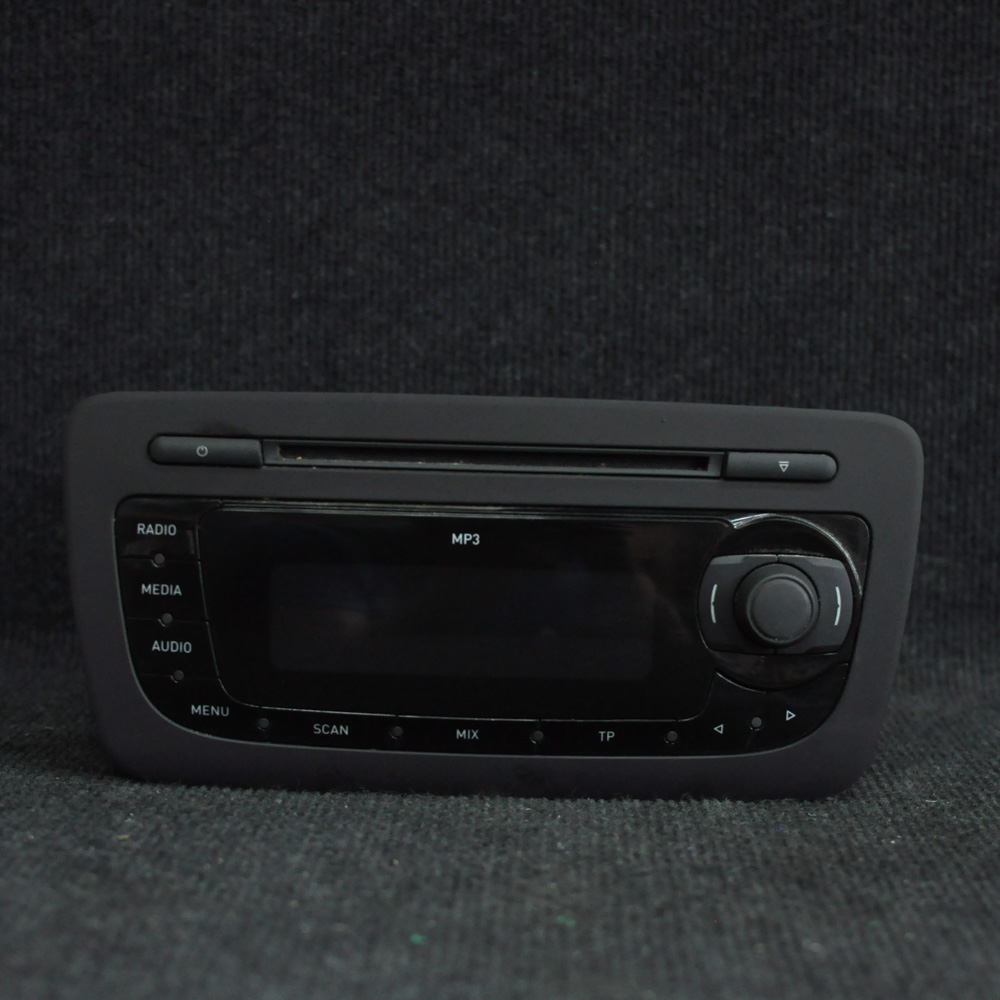 seat ibiza 6j radio cd player unit 6j0035153b ebay. Black Bedroom Furniture Sets. Home Design Ideas